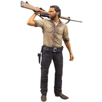 Mcfarlane - The Walking Dead - Rick Grimes - 25cm Deluxe