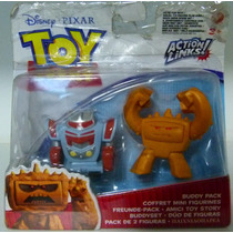 Boneco Toy Story 3 - Action Links! Sparks & Bad Mood Chunk