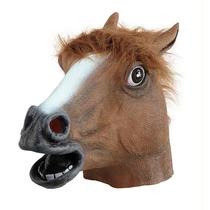 Máscara De Cavalo Head Horse Cosplay - Pronta Entrega Brasil
