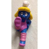 ### Smurfs - Smurfette Ginasta Schleich Miniatura Nova ###