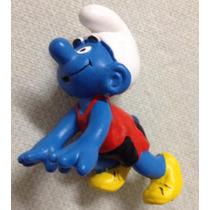 ### Smurfs - Smurf Corredor Schleich Miniatura Nova ###