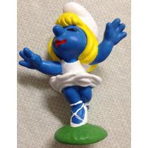 ### Smurfs - Smurfette Bailarina Schleich Miniatura Nova ###