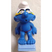 ### Smurfs - Smurf Nadador - Schleich Miniatura Nova ###