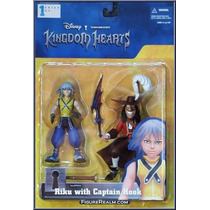 Kingdom Of Hearts - Riku & Captain Hook - Riku E Cap Gancho