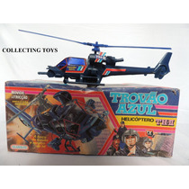 Helicóptero Trovão Azul - Série Da Tv - Glasslite - Novo !