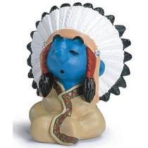 Chief Smurf - Miniatura Imp. Schleich - Smurfs - Nova!