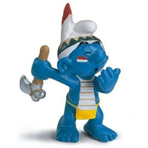 Raindancer Smurf - Miniatura Imp. Schleich - Smurfs - Nova!