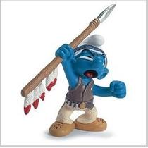 Spear Smurf - Miniatura Imp. Schleich - Smurfs - Nova!