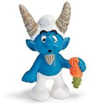 Capricorn Smurf - Miniatura Imp. Schleich - Smurfs - Nova!