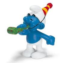 Party Smurf - Miniatura Imp. Schleich - Smurfs - Nova!