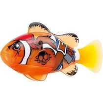 Robô Fish Peixe Pirata Brinquedo Dtc 2957 Laranja