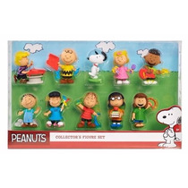 Kit 10 Personagens Snoopy E Sua Turma - Original Eua - No Br