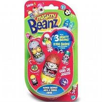 Brinquedo Mighty Beanz Blister Com 3 Série 5 Dtc