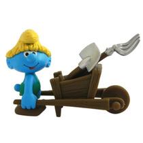 Smurfs - Bonecos Com Acessórios Smurf Fazendeiro