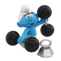 Smurfs - Boneco Com Acessórios Smurf Robusto Original