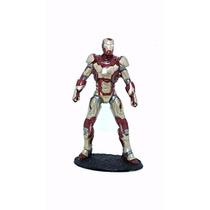 Estatueta Em Resina Homem De Ferro - Iron Man - Tony Stark