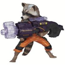 Boneco Marvel Guardiões Da Galaxia Big Rocket Raccoon Hasbro