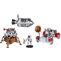 Lunar Rover Kit Montar 1:48 Boneco Astronauta Base Miniatura