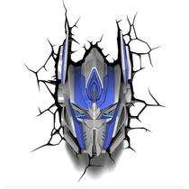 Transformers Optimus Prime - Luminária 3d Light Fx