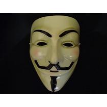 Máscara V De Vingança Anonymous Vendetta Guy Fawkes Lacrada