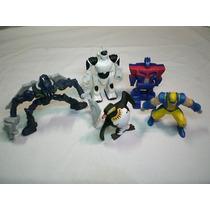 Lote De 5 Bonecos - Brinquedos Promocionais Wolverine