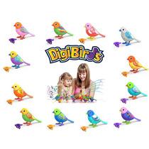 Brinquedo Digibirds Passarinhos Eletrônicos Dtc 3544