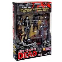 The Walking Dead - Governor Phillip Blake E Zombie Daughter