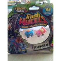 Trash Wheels Blister Com 2 Série 1 Tranqueiras