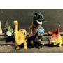 Kit Jurassic Park Dinossauro 4 Unidades 30/20cm Comprimento