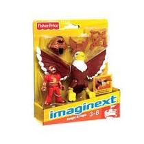 Imaginext Castelo Cavaleiro E Aguia - Mattel