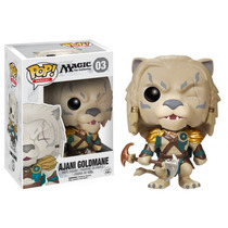 Boneco Ajani Goldmane M The Gathering Pop Magic! 03 Funko