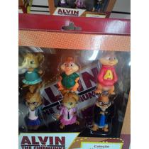 Boneco Alvin E Os Esquilos Kit Completo
