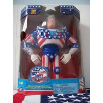 Buzz Lightyear Star & Stripes - Produto Eletrônico Toy Story