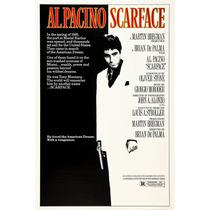 Scarface - Tony Montana - Al Pacino - Poster Em Lona 60x90cm