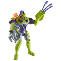 Boneco Max Steel Toxzon Bio Bomba Brinquedo Menino Mattel