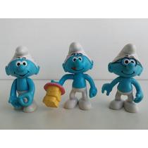 Bonecos Smurfs Miniaturas Coleção Mc Donald