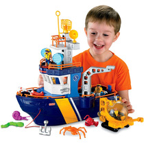 Imaginext Super Navio Aventura Fisher-price Pronta Entrega
