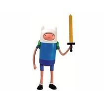 Boneco Finn Deluxe Adventure Time Hora De Aventura Multikids