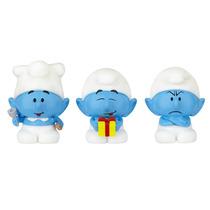 Os Smurfs - Micro Vila - Chef + Joca + Ranzinza