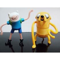 Coleção Hora Da Aventura Mc Donalds Jake E Finn Juntos!!!