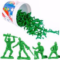 Balde De 60 Soldados Réplicas Original Toy Story Toyng