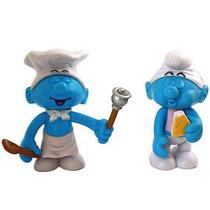 Os Smurfs - Fominha E Cozinheiro - Jakks Pacific