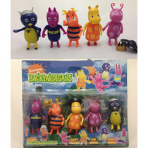 05 Miniaturas Bonecos Backyardigans C/ Luz Pablo Tyrone