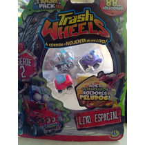Trash Wheels Blister Com 4 Série 2 Lixo Espacial