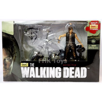 The Walking Dead Daryl Dixon With Chopper Mcfarlane Toys