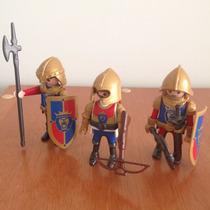 Playmobil Medieval 3 Cavaleiros Lions