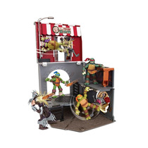 Tartarugas Ninja Playset Pop Up Alley
