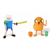 2 Bonecos Jake E Finn Hora Da Aventura! Cartoon Network