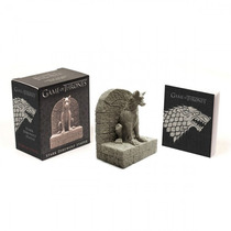 Kit Miniatura Estátua Direwolf Stark Game Of Thrones - Novo