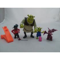Miniaturas Bonecos Personagens Filme Shrek C/ Luz